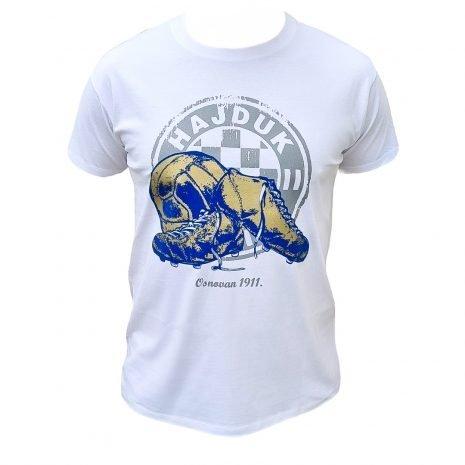 Hajduk majica bijela kopačka