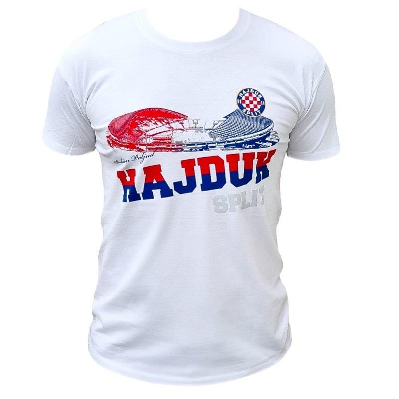 Hajduk majica bijela sa slikom Poljuda