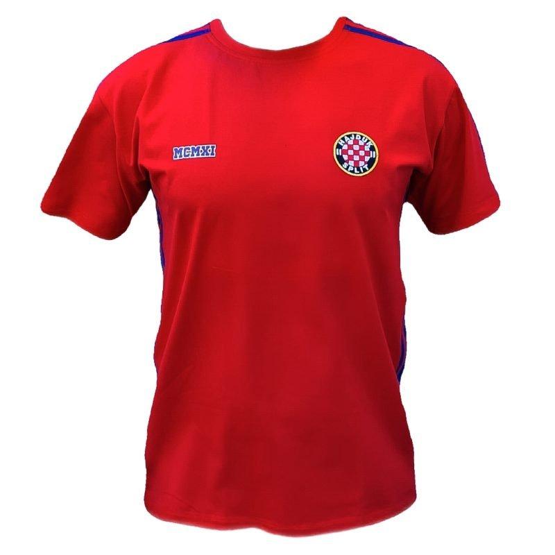 Hajduk majica crvena sa ušivnim grvom