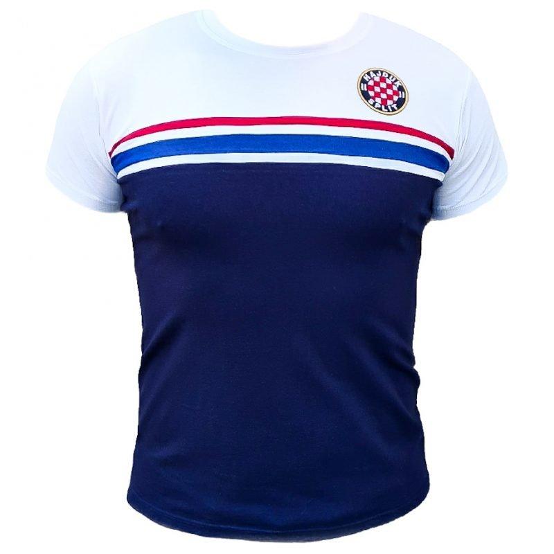 Hajduk majica bijelo modra