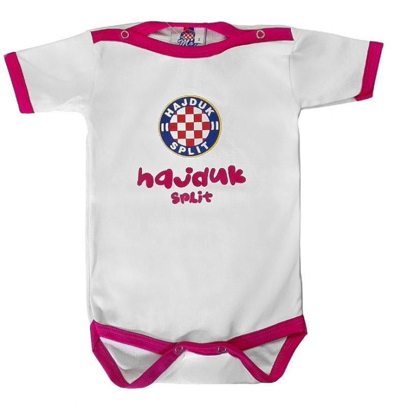 Hajduk body rozi kratki rukav