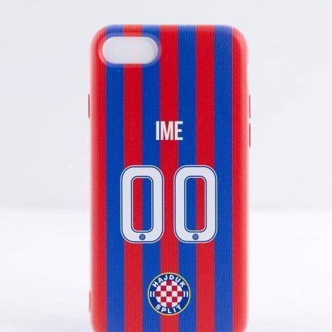 Hajduk maskica za mobitel crveno plava personalizirana