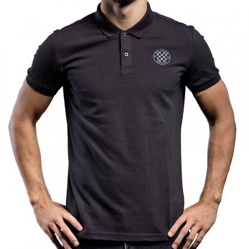 Hajduk Macron polo majica crna