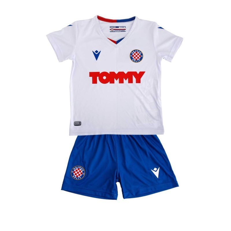 Hajduk dječji bijeli dres za od godinu dana do 6 godina