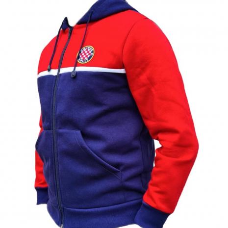 Hajduk jakna pamučna crveno plava