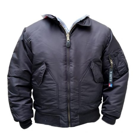 Hajduk zimska jakna Aviator crna