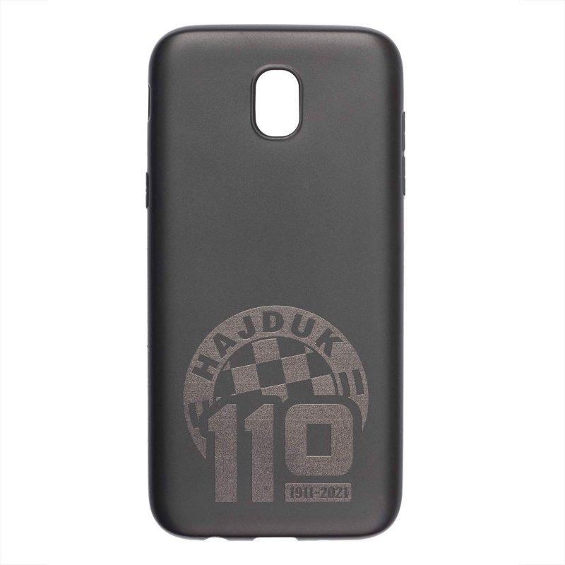 Hajduk maskica za mobitel crna sa grbom i natpisom 110 godina